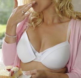 Mammae: Classic - Borstvoeding BH - Wit