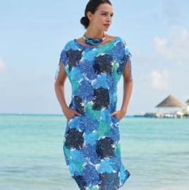 Anita: Ocean Glow - Kaftan - Blauw