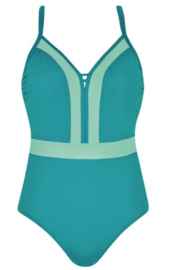 Color Up Your Life: Mix & Match - Badpak - Turkoois/Mint