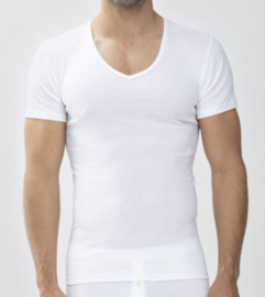 Mey: Casual Cotton - Shirt - Wit