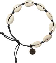 Barts: Pearl - Armband - Wit/Zwart