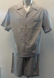 Schiesser - Pyjama (doorknoop) - Grijs