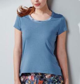 Essenza: Luyza - Shirt - Blauw