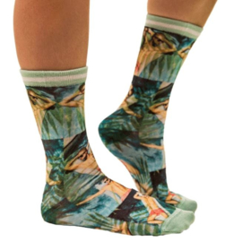 Sock My Feet: Hunk - Kousen - Aqua/Multi
