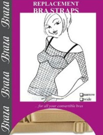Braza - Replacement Bra Straps - Huid
