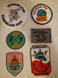 diverse Badges, herinneringsbandjes etc.