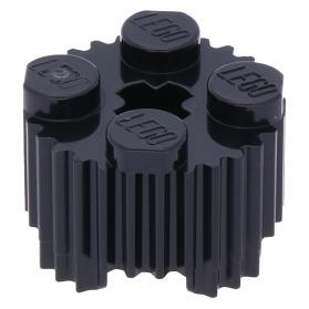 LEGO PART 30361C DARK BLUISH GREY BRICK ROUND 2 X 2 X 2 ROBOT BODY