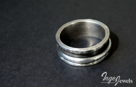 Sterling zilver spinner ring