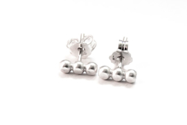 Handgemaakte sterling zilver oorstekers