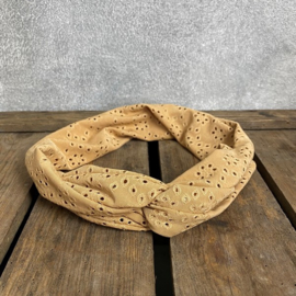 "Bandeau ""Broderie Taupe"""