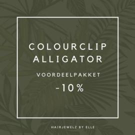 """Voordeel pakket: """"Colourclip Alligator"""""""
