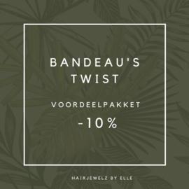 """Voordeel pakket: """"Bandeau Twist """""""