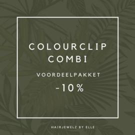 """Voordeel pakket """"Colourclip Combi"""""""