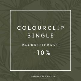 """Voordeel pakket: """"Colourclip Single"""""""