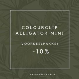 """Voordeel pakket: """"Colourclip Alligator mini"""""""