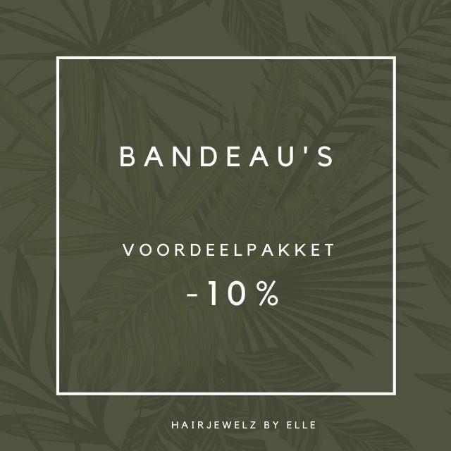 """Voordeel pakket """"Bandeau's"""""""