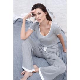 Piège Lange broek - Ines - Grijs