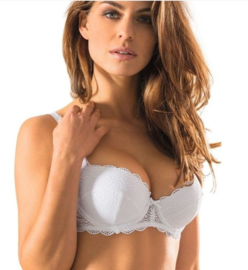 Viania Push-Up BH - Luna - Wit