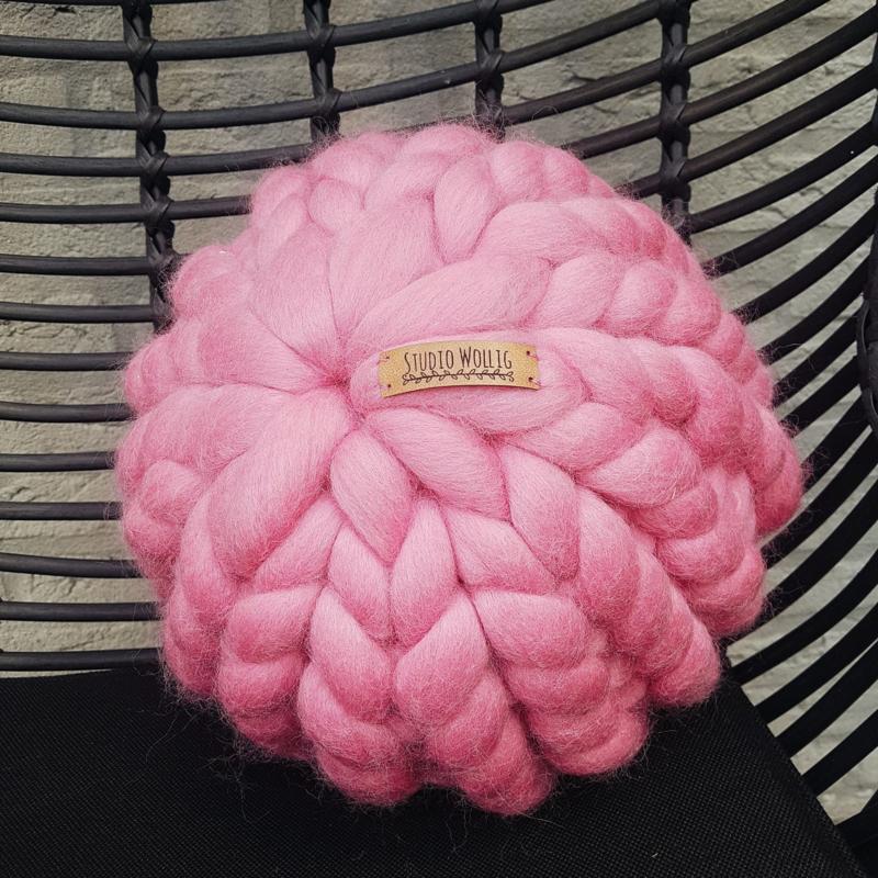 Kussen Rond | Roze