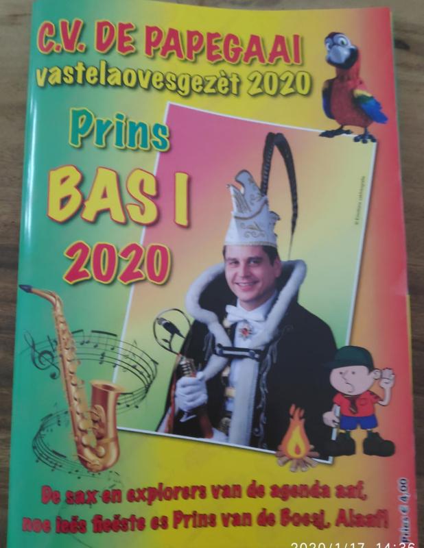 Vastelaovesgezèt 2020