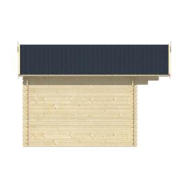 Blokhut Skyler - 482 x 302 cm - incl. montage