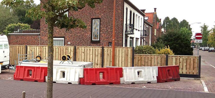 Ahtm.nl Nieuwkuijk - Hout-Beton schutting Vlijmen