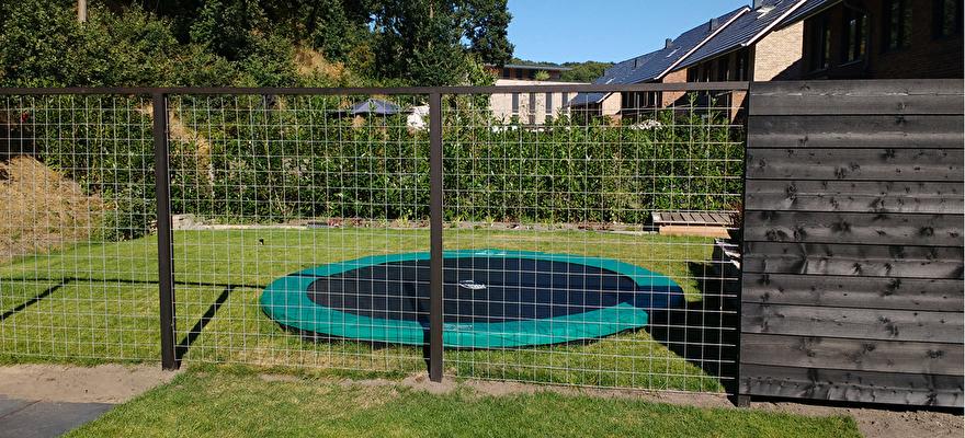 Ahtm.nl - Tuinschermen rabat - gaaselement - Aandacht Huis & Tuin Montageservice