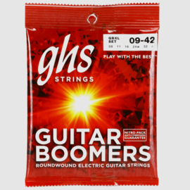 GHS Guitar Boomers - Electric Guitar String Set, Extra Light, .009-.042