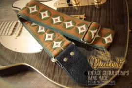 Bluebird Vintage Series - Brown, Green & White