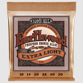 Ernie Ball 2150 Earthwood Phosphor Bronze Extra Light 10/50