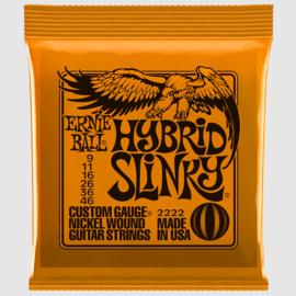 Ernie Ball 2222 Hybrid Slinky 9/46