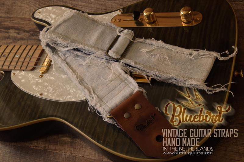 Bluebird Modern Series - Aged Worn Jeans Light