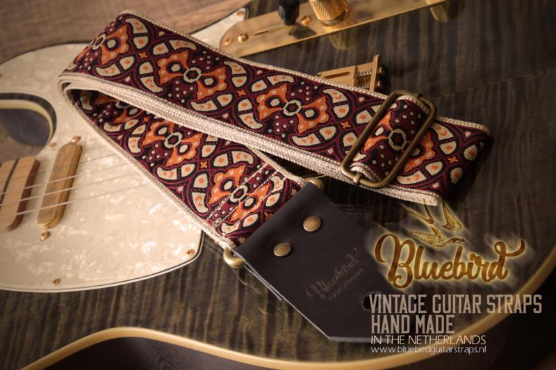 Bluebird Vintage & Rare Series - Vintage Greece Bordeaux & Beige