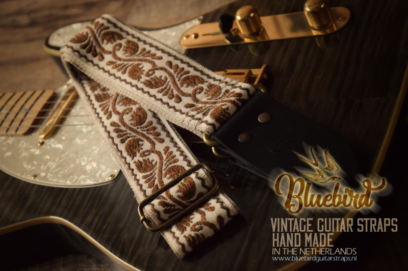 Bluebird Vintage & Rare Series - Antique Brown Floral