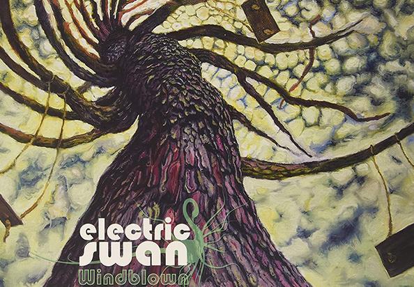 Bluebird Friends - Electric Swan