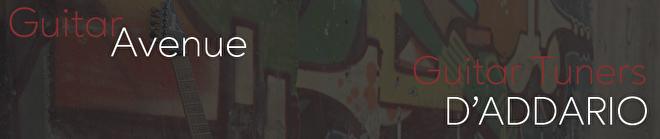 Guitar Avenue D'Addario clip on Tuner