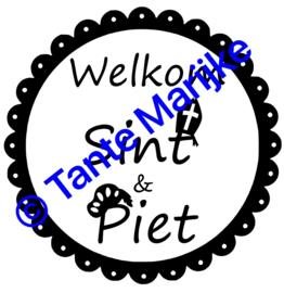 Sticker welkom