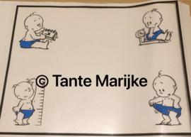 Stickers geboortelijst