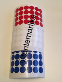 Confetti rood/wit/blauw