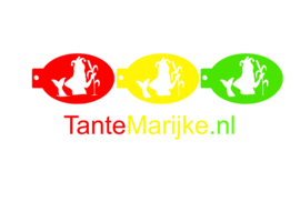 Schminksjabloon met logo (4 stuks)