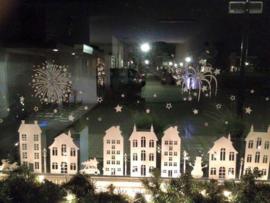 Set huisjes herst-Halloween-sint en kerst 2,1 meter