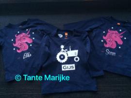 Baby shirt tractor