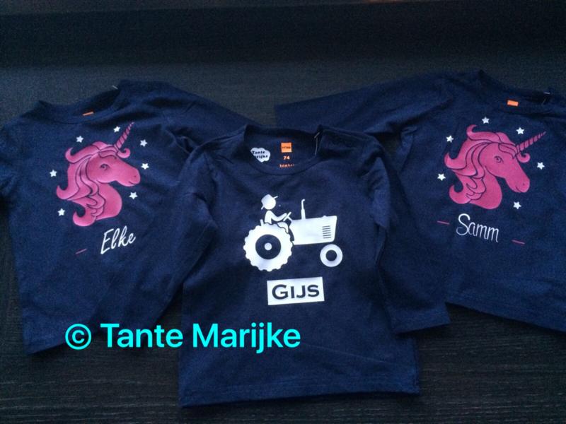 Baby shirt unicorn