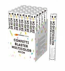 Confetti blaster Silver/Gold 40cm