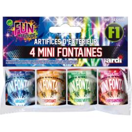 4 mini fontaines -  Ardi