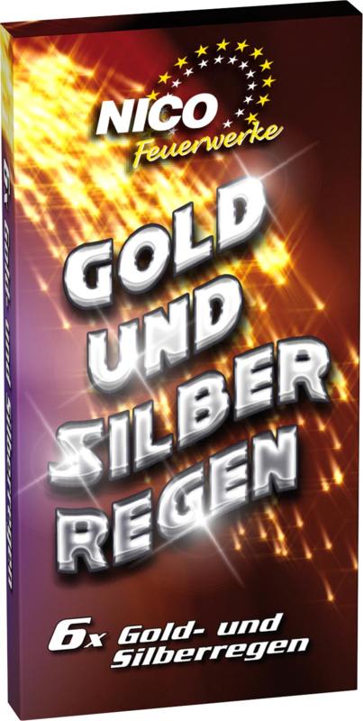 Gold & Silberregen