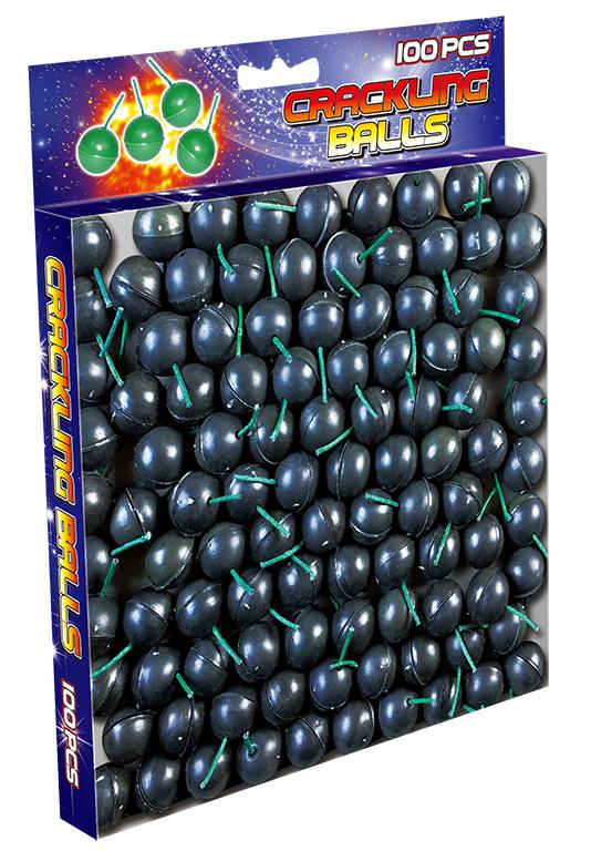 Crackling balls Bulkpack