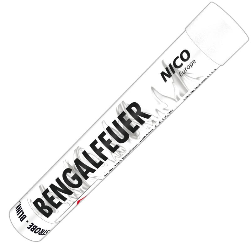 Bengalfeuer Weiß Blink