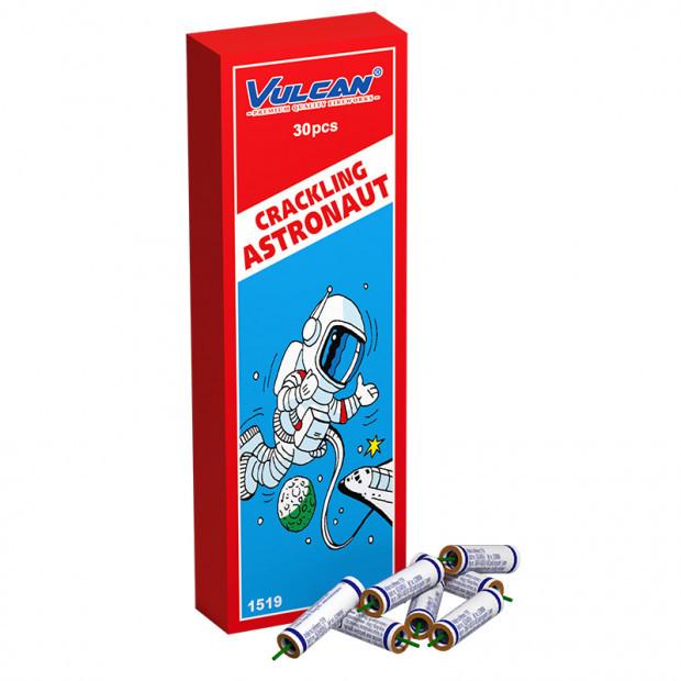 Crackling astronaut (kindervuurwerk vulcan)