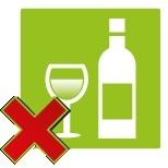 Drink geen alcohol tijdens het vuurwerk afsteken